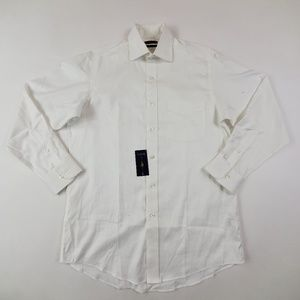 Club Room Long Sleeve Shirt Size Size XL, White